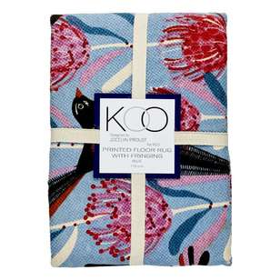 Koo Jocelyn Proust Wagtail Printed Cotton Rug