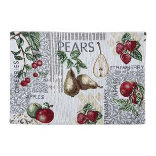 Koo Home Pear Tapestry Placemat