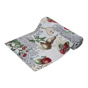 Koo Home Pear Tapestry Table Runner