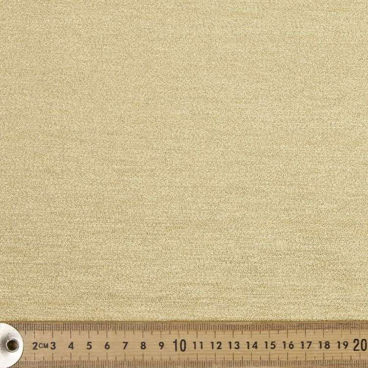 Metallic Lame Polyester Lurex Fabric #3 Gold 110 cm
