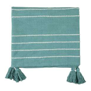 Ombre Home Mediterranean Summer Tassel Throw