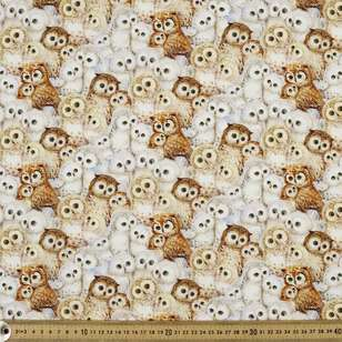 Studio E Epic Owls Packed Owls Cotton Fabric