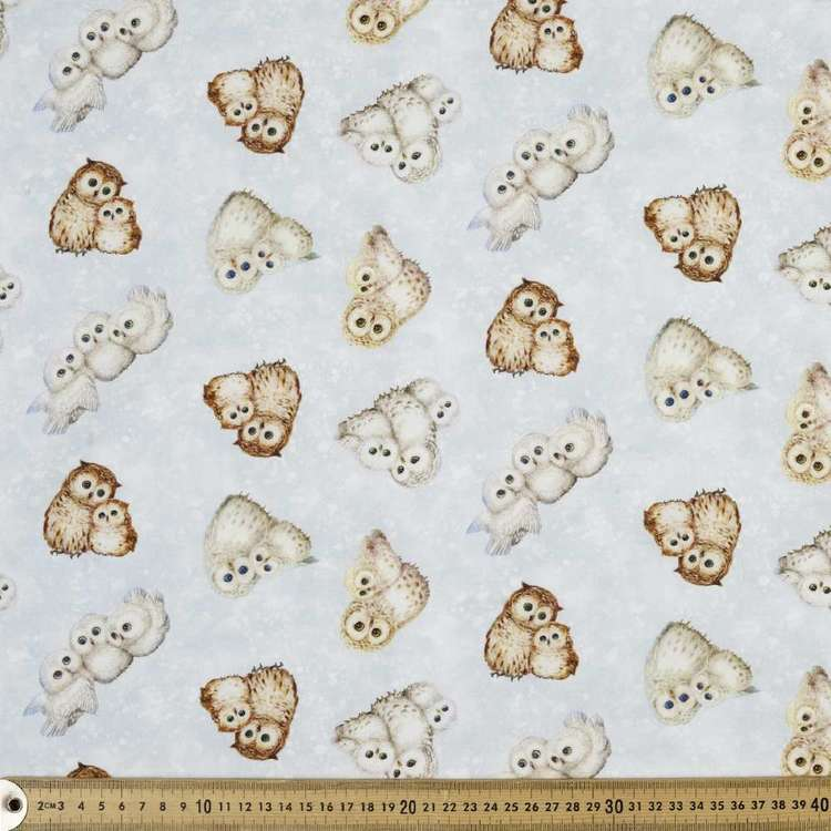 Studio E Epic Owls Tossed Cotton Fabric