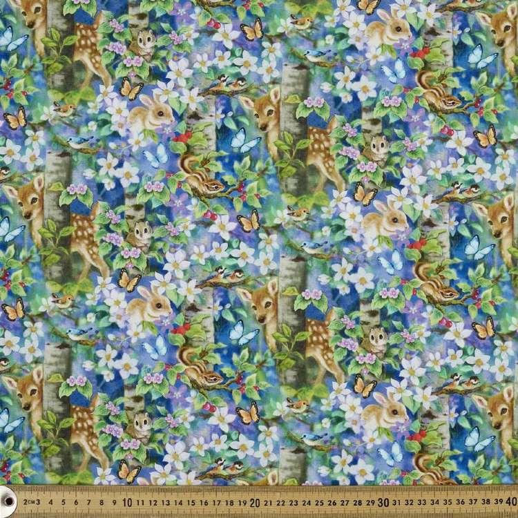 Studio E Epic Owls Forest Friends Cotton Fabric