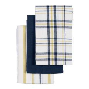 Living Space Finn Tea Towel 3 Pack
