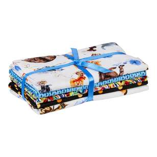 Dog & Cat 5 Piece Fat Quarter Bundle