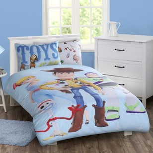 Toy Story Toys At Play Quilt Cover Set