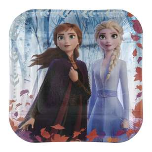 Frozen 2 Square Plate 8 Pack