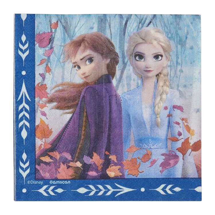 Frozen 2 Lunch Napkin 16 Pack