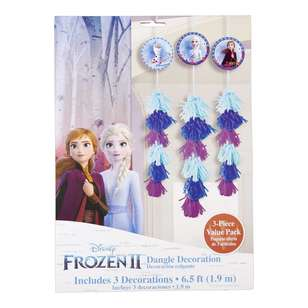 Frozen 2 Dangle Dec Value Pack