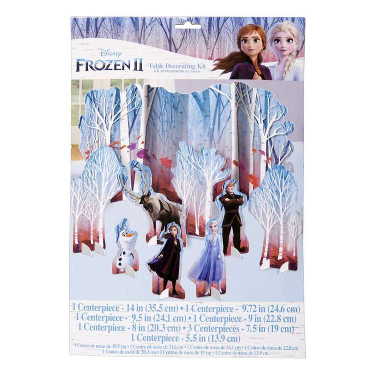 Frozen 2 Table Decoration Kit