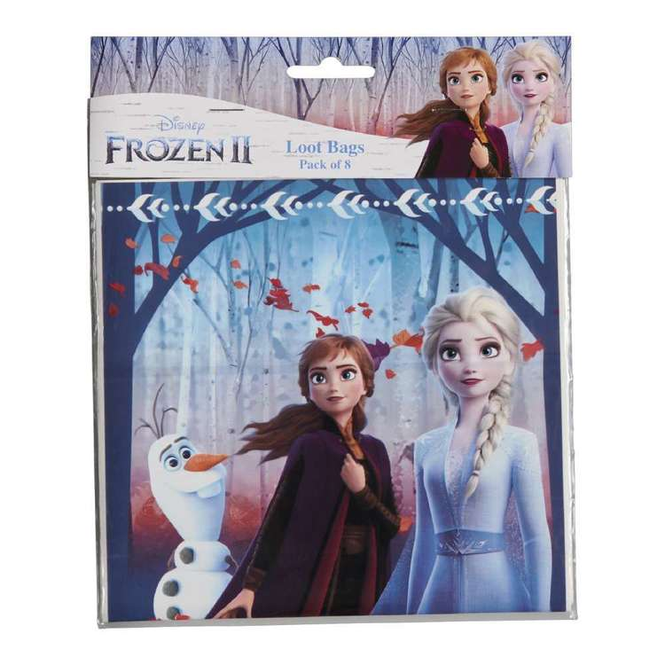 Frozen 2 Plastic Loot Bag 8 Pack