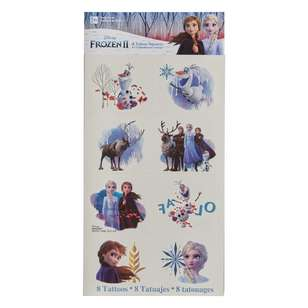 Frozen 2 Tattoos 8 Pack