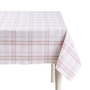 Living Space Finn Check Table Cloth