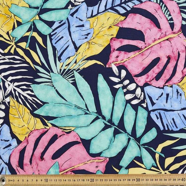 In The Tropics Printed Rayon Fabric
