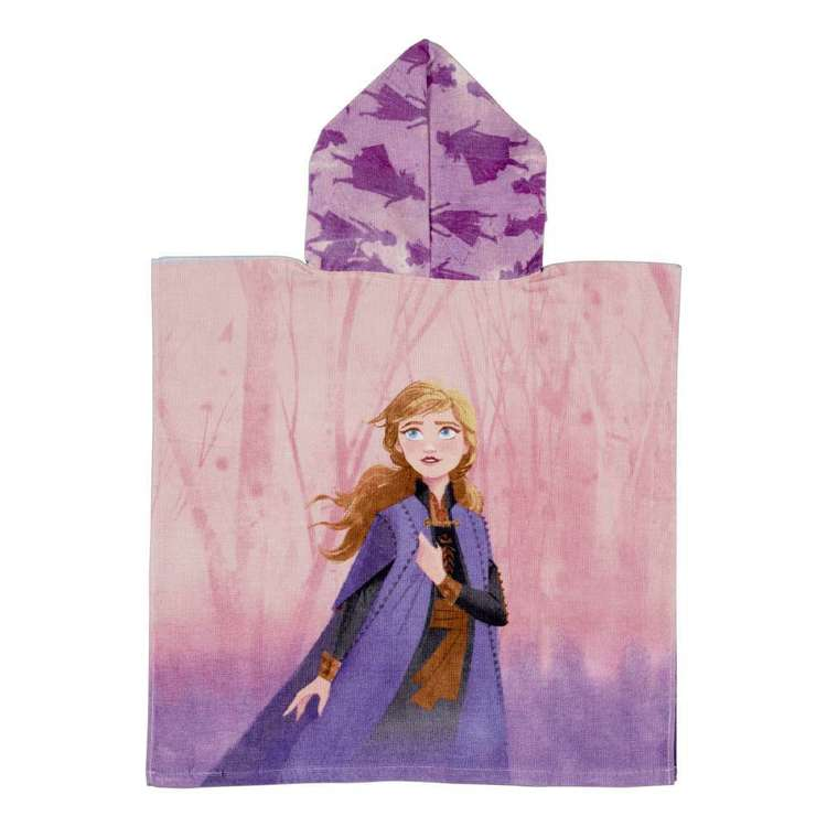 Frozen 2 Hooded Towel Multicoloured
