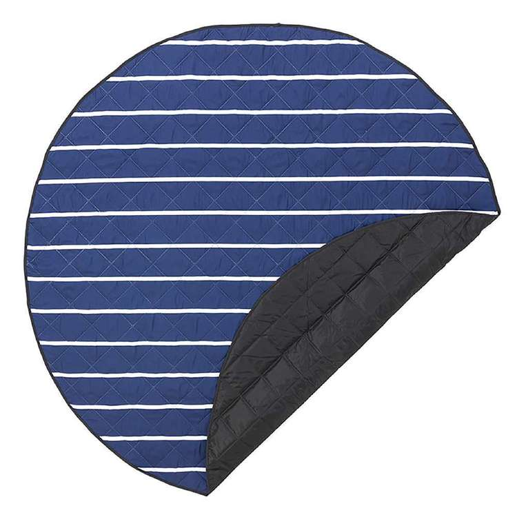 Nautical Outdoor Round Mat