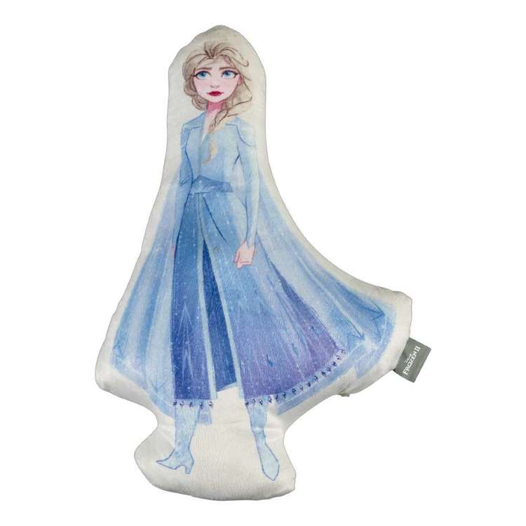 Frozen 2 Elsa Shaped Cushion