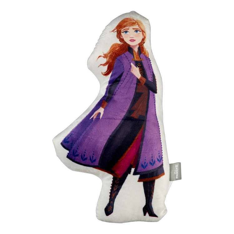 Frozen 2 Anna Shaped Cushion