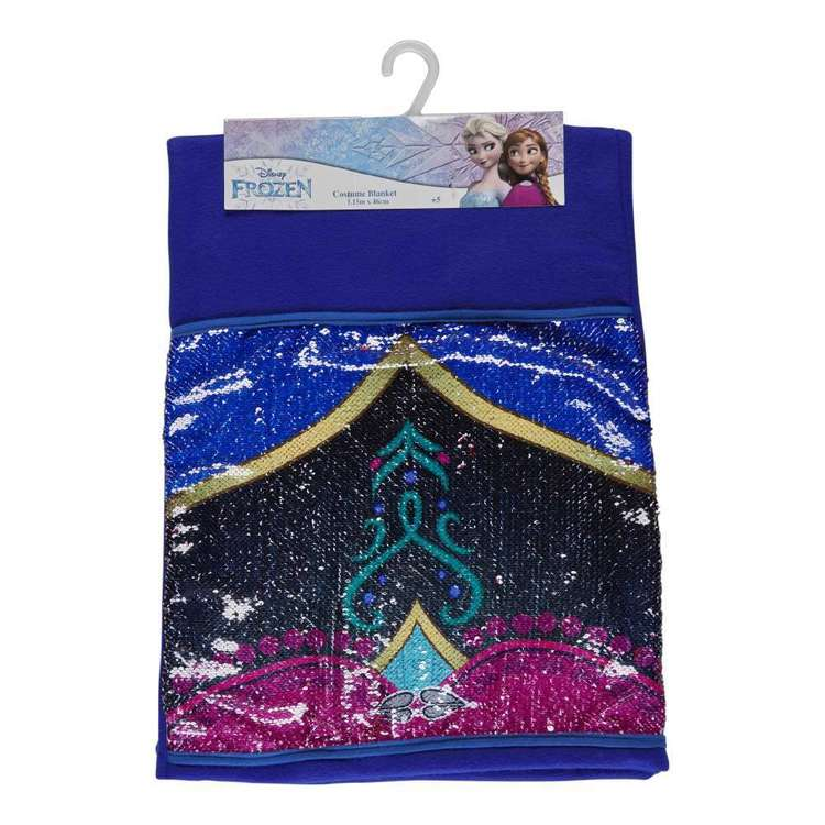 Frozen 2 Anna Shaped Blanket