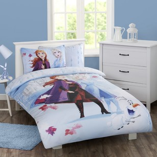 Frozen 2 Poly-Cotton Quilt Cover Set