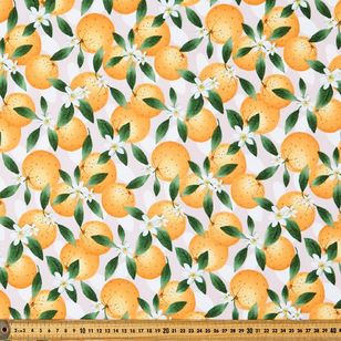 Forbidden Fruit Printed Montreaux Drill Fabric
