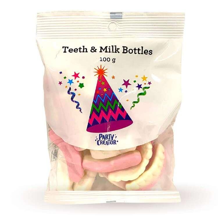 Party Creator Teeth & Milk Bottles