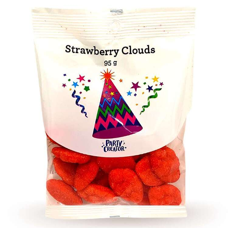 Party Creator Sour Strawberry Clouds