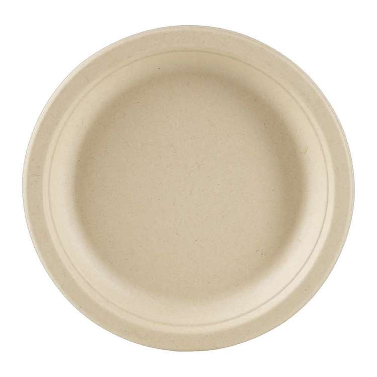 EcoSouLife Wheat Straw Side Plate 10 Pack