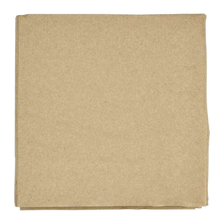 EcoSouLife Recycled Paper Napkins 50 Pack Natural