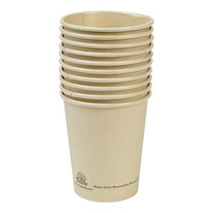 EcoSouLife Sugar Cane Cups 10 Pack