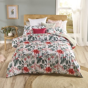 Esque Protea Red Quilt Cover Set