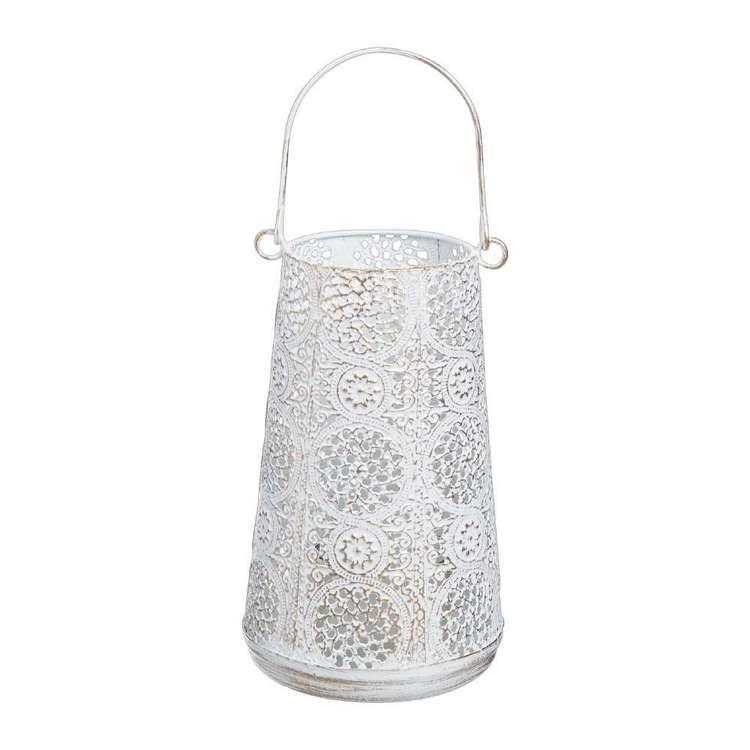 Ombre Home Mediterranean Summer 13 x 24 cm Metal Lantern