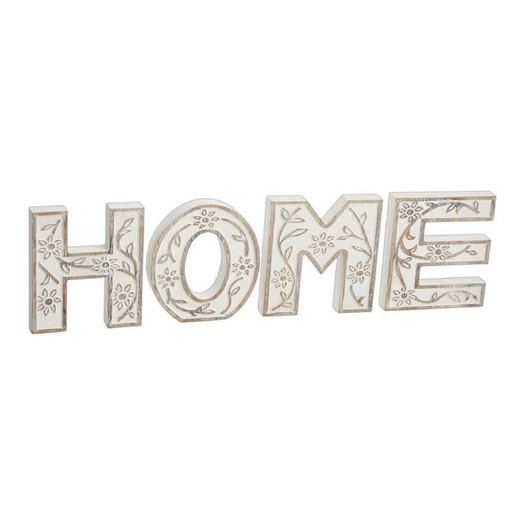 Ombre Home Mediterranean Summer 'Home' Typo Sign