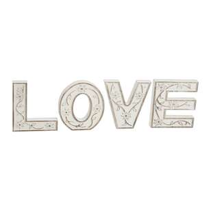 Ombre Home Mediterranean Summer 'Love' Typo Sign