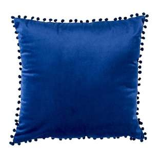 Ombre Home Mediterranean Summer Pom Pom Cushion