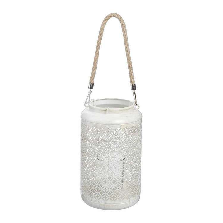 Ombre Home Mediterranean Summer Lantern With Rope