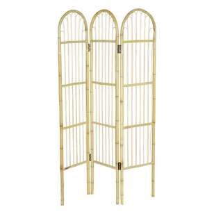 Ombre Home Mediterranean Summer Bamboo Room Divider