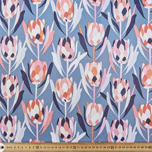 Jocelyn Proust Protea Steel Curtain Fabric