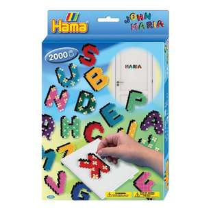 Hama Letters & Numbers Small Boxed Gift Set