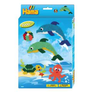 Hama Dolphins Small Boxed Gift Set