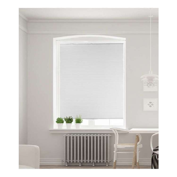 Selections White Corded Cellular Blind