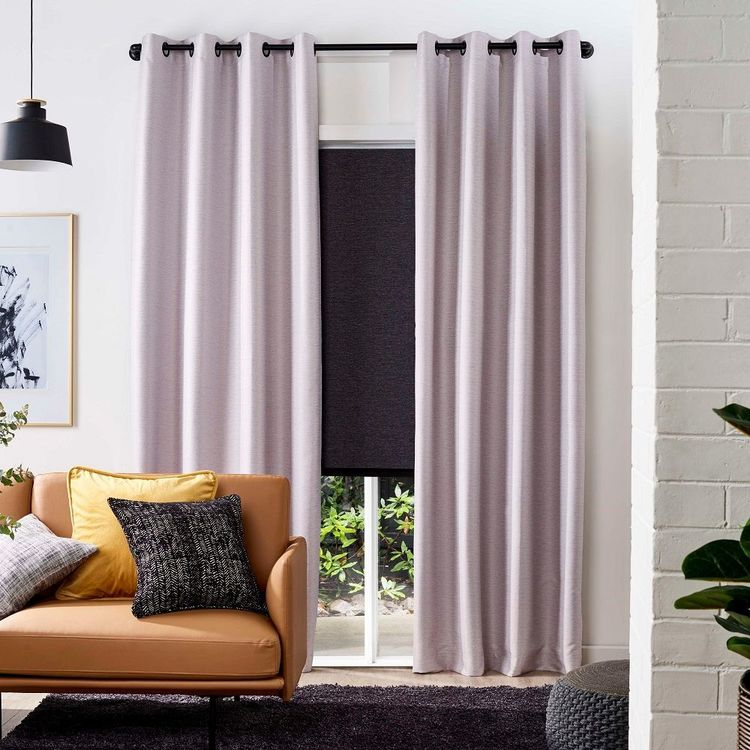 Caprice Urban Blockout Eyelet Curtains