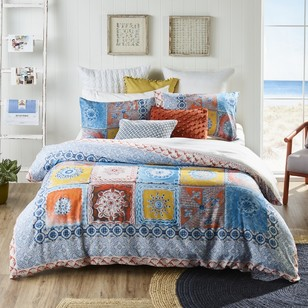 KOO Amalfi Tile Quilt Cover Set