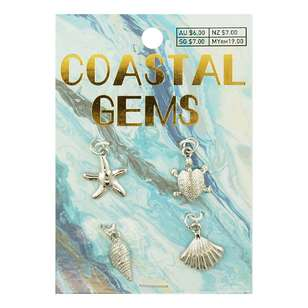 Coastal Sea Charms 4 Pack