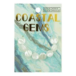 Coastal Plastic Tex Pearl Beads 8 Pack