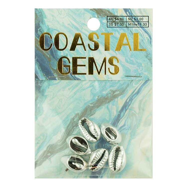 Coastal Cowrie Shells 6 Pack