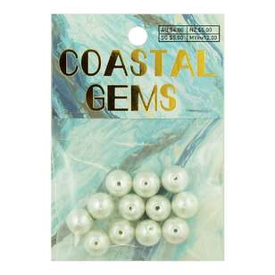 Coastal Glass Pearls 12 Pack