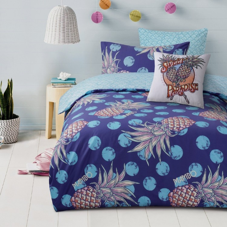 Mambo Pineapple Quilt Cover Set