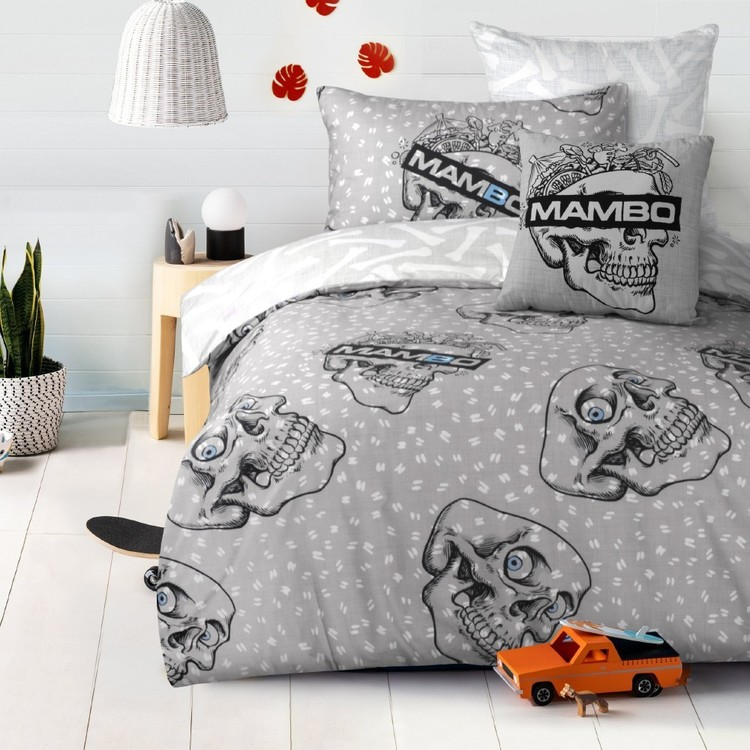 Mambo Skull Quilt Cover Set